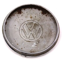 Chrome Wheel Center Hub Cap VW Jetta Rabbit Pickup MK1 - Genuine