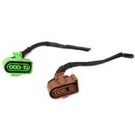 Lower o2 Oxygen Sensor Pigtails Wiring Plugs Audi A6 A4 VW Passat 2.8 V6 30v