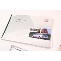 1999 Audi A6 C5 Avant Wagon Owners Manual - Information Books - Genuine