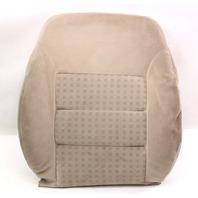 RH Front Seat Back Rest Cover & Foam 99-05 VW Jetta Golf MK4 - Beige Cloth