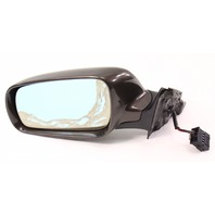 LH Exterior Side View Mirror 96-99 Audi A4 B5 - LZ8P Sable Brown - Genuine