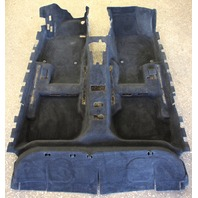 Floor Interior Carpet 05-10 VW Jetta Golf Rabbit Mk5 4 Door Black 1K1 863 367 BG