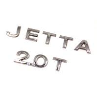 Trunk Emblem Badge Logo 05-10 VW Jetta 2.0T MK5 - Genuine