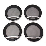 "Set Of 4 Pioneer 4"" Speaker Covers Grilles Grill - TS-D1002R"