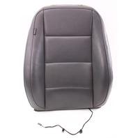 RH Front Seat Back Rest Gray Leatherette Cover & Foam 05-10 VW Jetta Rabbit Mk5