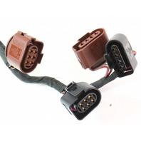 o2 Oxygen Sensor Wiring Harness Plugs Pigtails 04-06 VW Phaeton 4.2 V8 - Genuine