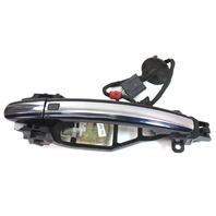 RH Rear Exterior Door Handle Pull 04-06 VW Phaeton - LR5W Blue - 3D0 837 886 H
