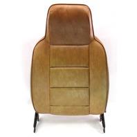 RH Front Seat Back Rest 75-84 VW Rabbit Pickup Truck Jetta MK1 Brown Vinyl