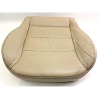 LH Front Seat Cushion & Foam 02-05 VW Jetta Golf MK4 - Beige Leather