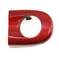 Front Door Handle Key Hole Trim 05-10 VW Jetta Rabbit GTI MK5 Red - 1K5 837 879
