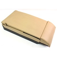Rear Armrest Arm Rest Ski Pass Assembly 05-10 VW Jetta Mk5 - Beige Leather