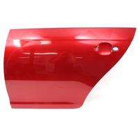 LH Rear Door Shell Skin 05-10 VW Jetta MK5 - LA3W Red - Genuine - 1K5 833 299 H