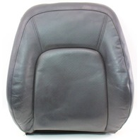 RH Front Seat Backrest Cover & Foam 98-05 VW Beetle - Black Leather - Genuine