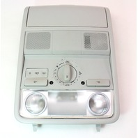 Front Dome Map Light Sunroof Switch 06-10 VW Passat B6 - Grey - 3C0 867 489 B