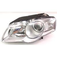 LH Headlight Head Light Lamp 06-10 VW Passat B6 Halogen Valeo - 3C0 941 005 P
