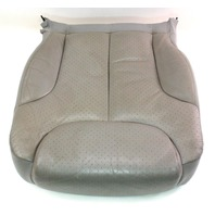 RH Front Seat Lower Cushion & Cover 06-10 VW Passat B6  - Grey Leather - Genuine