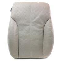 RH Front Seat Back Rest Foam & Cover 06-10 VW Passat B6  - Grey Leather