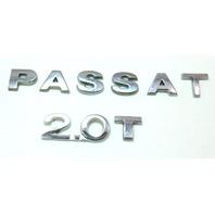 Trunk Emblem Badge Letters 06-10 VW Passat B6 2.0T - Genuine