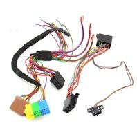 Radio Head Unit Wiring Harness Plugs Pigtails 01-05 VW Jetta Golf MK4 Passat