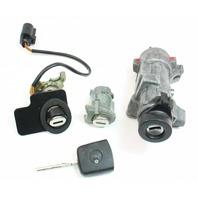 Lock Set Key Ignition Housing Door Handle 01-05 VW Passat B5.5 / 4B0 905 851