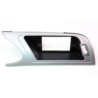 Dash LCD Screen Display Trim Bezel 09-16 Audi A4 B8 - Genuine - 8K1 857 186 D