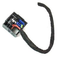 Radio Head Uniit Wiring Harness Pigtail Plug 09 Audi A4 B8 Genuine - 3B7 035 444