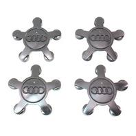 Set Of 4 Wheel Center Hub Caps 09-12 Audi A4 B8 - Genuine - 4F0 601 165 N