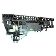 LH Front Exterior Door Handle 09-12 Audi A4 S4 B8 - LY9B Black - Genuine