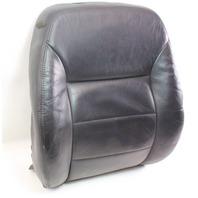 RH Front Seat Back Rest Cover & Foam 99-05 VW Jetta MK4 ~ Heated Black Leather ~
