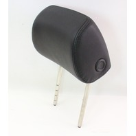 LH Front Seat Head Rest Headrest - Black Pleather Vinyl 06-10 VW Passat B6