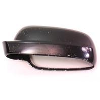 LH Side View Mirror Cap Cover VW Jetta Golf MK4 Cabrio Passat - L041 Black