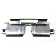 Trunk Latch Receiver Cover Flap 01-05 VW Jetta MK4 Wagon - Chrome - Genuine