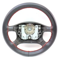 Steering Wheel W/ Red Stitching 99-05 VW Passat B5 Jetta Golf Mk4 - Genuine
