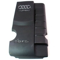Plastic Engine Cover 05-08 Audi A4 B7 2.0T FSI - Genuine - 06D 103 925 A