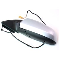 LH Side View Exterior Door Mirror 02-08 Audi A4 B6 B7 - LY7W Silver - Genuine