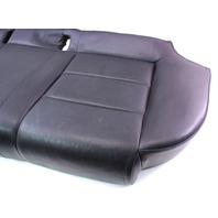 Rear Seat Cushion Cover & Foam 02-08 Audi A4 B6 B7 - Black Leather Bottom