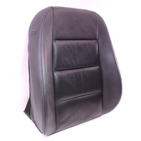 RH Front Leather Seat Back Rest Cover & Foam 05-08 Audi A4 B7 - Genuine