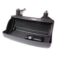 RH Under Seat Storage Cubby Drawer 05-08 Audi A4 B7 Compartment - Black