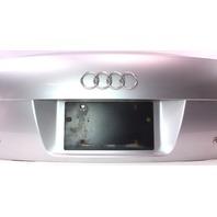 Trunk Deck Lid 05-08 Audi A4 S4 B7 - Genuine - LY7W - Light Silver Metallic