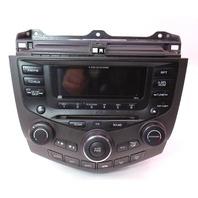 Radio 6 CD Changer Climate Temp Control 2003 03 Honda Accord 39175-SDA-A110
