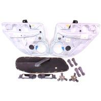 Manual Crank Window Conversion Swap Kit 99-05 VW Jetta Golf MK4 - Genuine Parts