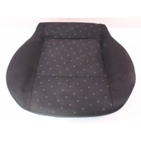 Front Seat Cushion & Cover 99-01 VW Jetta Golf MK4  - Black Cloth - Genuine