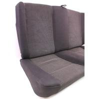 Black Cloth Rear Seat Back Rest Cushion Cover Foam 99-02 VW Cabrio MK3.5 -