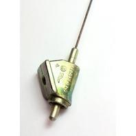 NOS Fuel Gas Door Release Cable 71-72 VW Super Beetle - Genuine - 113 809 939