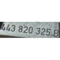 Climate Temp Control Trim Bezel Surround 84-88 Audi 5000 - 443 820 325 B