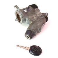 Ignition Collar & Key 93-99 VW Jetta Golf GTI Cabrio MK3 - Genuine - 357 905 851