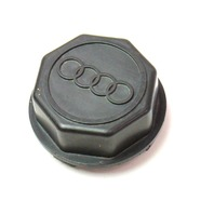 Center Hub Wheel Caps 52mm 83-88 Audi 5000 - Genuine - 841 601 165