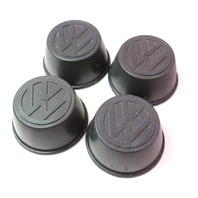 Wheel Center Cap Set VW Jetta Rabbit Scirocco MK1 ~ Genuine ~ 321 601 171 A