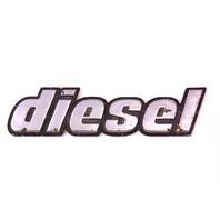 Diesel Tail Gate Badge Emblem 80-83 VW Rabbit Pickup Truck Mk1 ~ 179 853 687 B