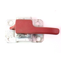 LH Red Interior Door Pull Handle 75-84 VW Jetta Rabbit Caddy MK1 - 171 837 225